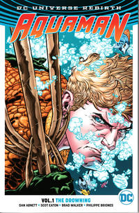 Cover Thumbnail for Aquaman (DC, 2017 series) #1 - The Drowning
