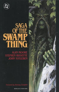 Cover Thumbnail for Swamp Thing (DC, 1987 series) #[1] - Saga of the Swamp Thing [First Printing]