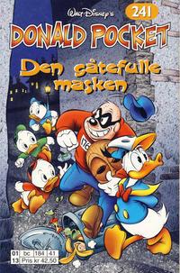 Cover Thumbnail for Donald Pocket (Hjemmet / Egmont, 1968 series) #241 - Den gåtefulle masken [1. opplag]