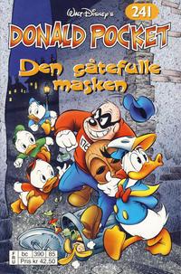 Cover Thumbnail for Donald Pocket (Hjemmet / Egmont, 1968 series) #241 - Den gåtefulle masken [Reutsendelse bc 390 85]