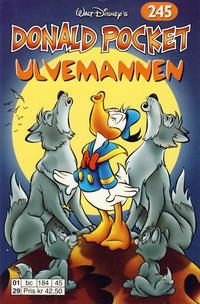 Cover Thumbnail for Donald Pocket (Hjemmet / Egmont, 1968 series) #245 - Ulvemannen [1. opplag]