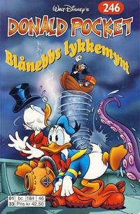 Cover Thumbnail for Donald Pocket (Hjemmet / Egmont, 1968 series) #246 - Blånebbs lykkemynt [1. opplag]