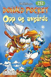 Cover Thumbnail for Donald Pocket (Hjemmet / Egmont, 1968 series) #252 - Opp og avgårde [1. opplag]