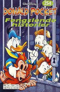 Cover Thumbnail for Donald Pocket (Hjemmet / Egmont, 1968 series) #254 - Fengslende historier [1. opplag]