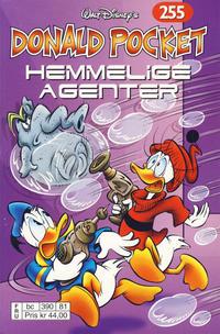 Cover Thumbnail for Donald Pocket (Hjemmet / Egmont, 1968 series) #255 - Hemmelige agenter [Reutsendelse bc 390 81]