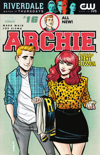 Cover for Archie (Archie, 2015 series) #16 [Cover B - Marguerite Sauvage]
