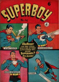 Cover Thumbnail for Superboy (K. G. Murray, 1949 series) #114