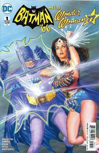 Cover Thumbnail for Batman '66 Meets Wonder Woman '77 (DC, 2017 series) #1 [Alex Ross Cover]