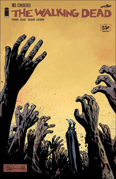 Cover for The Walking Dead (Image, 2003 series) #163 [Cover B - 200 Copy Incentive]