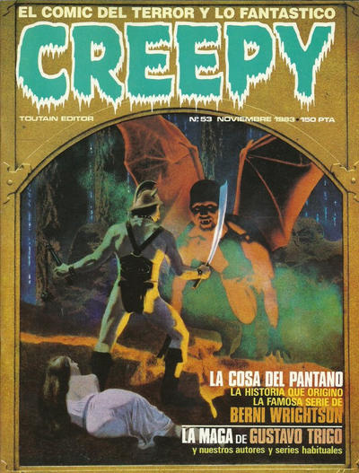 Cover for Creepy (Toutain Editor, 1979 series) #53