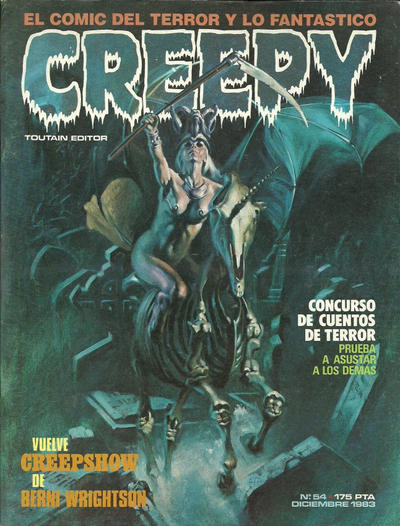 Cover for Creepy (Toutain Editor, 1979 series) #54