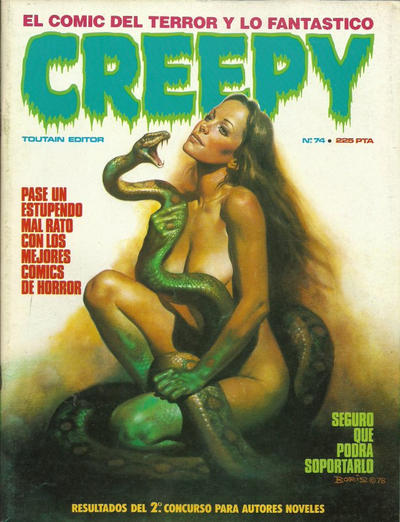 Cover for Creepy (Toutain Editor, 1979 series) #74