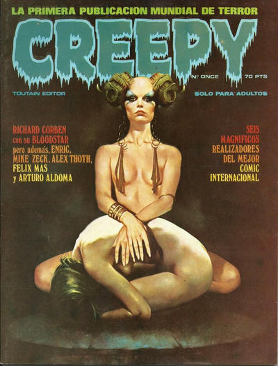 Cover for Creepy (Toutain Editor, 1979 series) #11