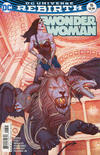 Cover for Wonder Woman (DC, 2016 series) #16 [Jenny Frison Variant Cover]