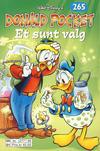Cover Thumbnail for Donald Pocket (1968 series) #265 - Et sunt valg [Reutsendelse bc 277 95]