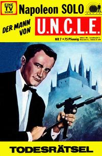 Cover Thumbnail for Napoleon Solo - Der Mann von U.N.C.L.E. (Semic, 1967 series) #7