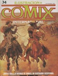 Cover Thumbnail for Ilustración + Comix Internacional (Toutain Editor, 1980 series) #34