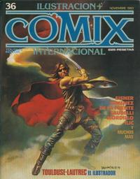 Cover Thumbnail for Ilustración + Comix Internacional (Toutain Editor, 1980 series) #36