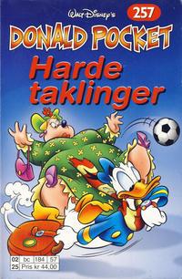 Cover Thumbnail for Donald Pocket (Hjemmet / Egmont, 1968 series) #257 - Harde taklinger [1. opplag]