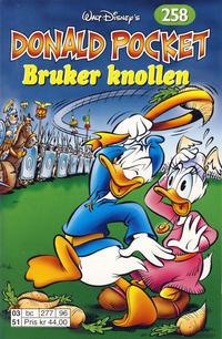Cover Thumbnail for Donald Pocket (Hjemmet / Egmont, 1968 series) #258 - Donald bruker knollen [Reutsendelse bc 277 96]