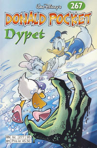 Cover for Donald Pocket (Hjemmet / Egmont, 1968 series) #267 - Dypet [Reutsendelse bc 277 95]