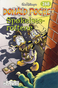 Cover Thumbnail for Donald Pocket (Hjemmet / Egmont, 1968 series) #268 - Spøkelsesrottene [1. opplag]