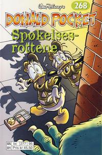 Cover Thumbnail for Donald Pocket (Hjemmet / Egmont, 1968 series) #268 - Spøkelsesrottene [Reutsendelse bc 277 95]