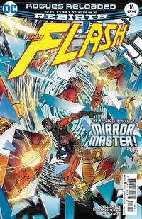 Cover Thumbnail for The Flash (DC, 2016 series) #16 [Carmine Di Giandomenico Cover]