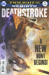 Cover Thumbnail for Deathstroke (DC, 2016 series) #12 [Bill Sienkiewicz Cover]