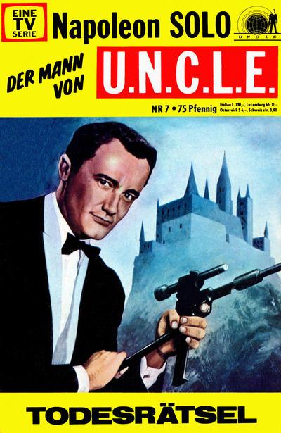 Cover for Napoleon Solo - Der Mann von U.N.C.L.E. (Semic, 1967 series) #7