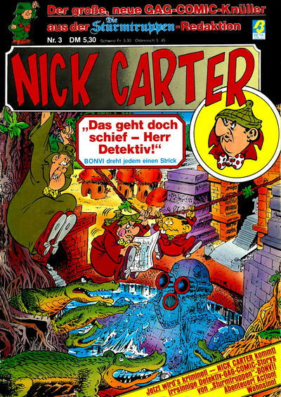 Cover for Nick Carter (Condor, 1985 series) #3