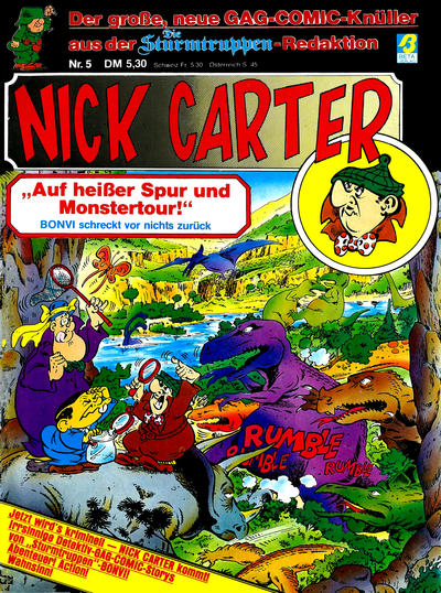 Cover for Nick Carter (Condor, 1985 series) #5