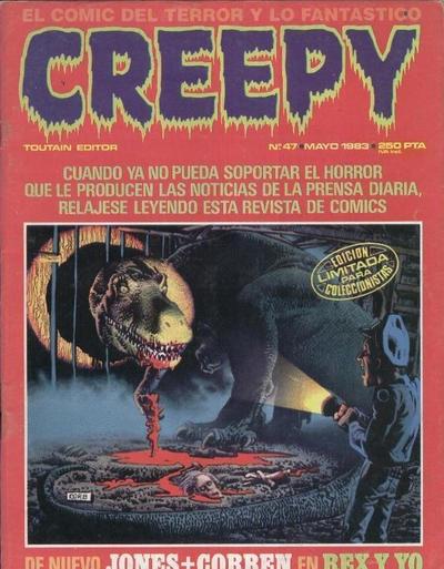 """Cover for Creepy (Toutain Editor, 1979 series) #47 [""""Edición limitada para coleccionistas""""]"""