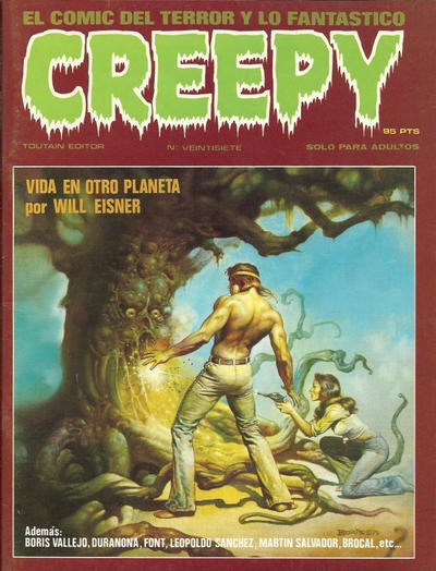 Cover for Creepy (Toutain Editor, 1979 series) #27