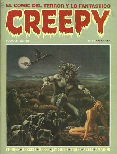 Cover for Creepy (Toutain Editor, 1979 series) #65