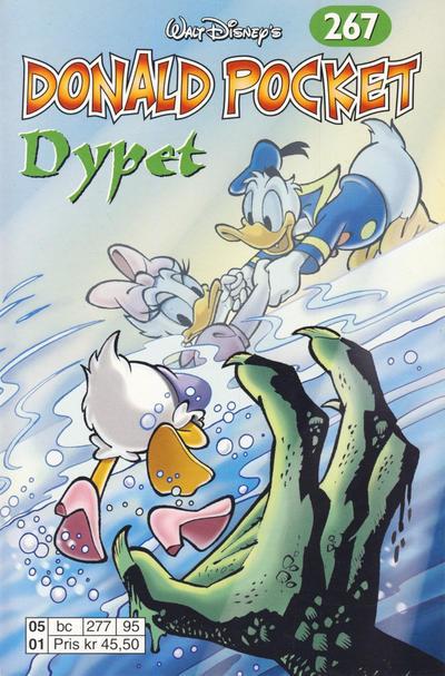 Cover for Donald Pocket (Hjemmet / Egmont, 1968 series) #267 - Dypet [1. opplag]