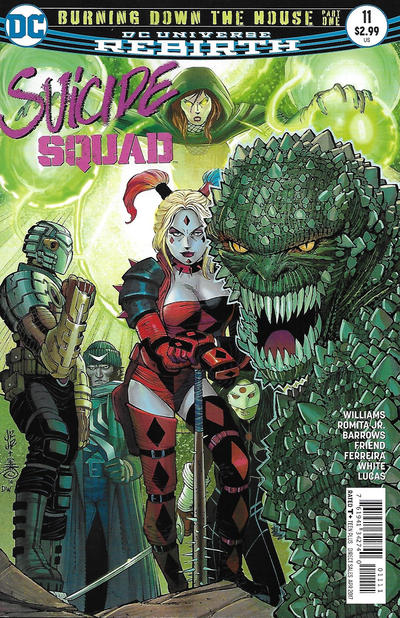 Cover for Suicide Squad (DC, 2016 series) #11 [Newsstand]