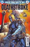 Cover for Deathstroke (DC, 2016 series) #12 [Shane Davis / Michelle Delecki Cover]