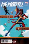 Cover for Ms. Marvel (Marvel, 2016 series) #15