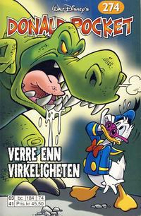 Cover Thumbnail for Donald Pocket (Hjemmet / Egmont, 1968 series) #274 - Verre enn virkeligheten [1. opplag]