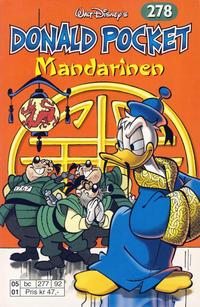 Cover Thumbnail for Donald Pocket (Hjemmet / Egmont, 1968 series) #278 - Mandarinen [Reutsendelse bc 277 92]