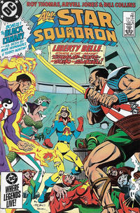Cover Thumbnail for All-Star Squadron (DC, 1981 series) #42 [Direct Sales]