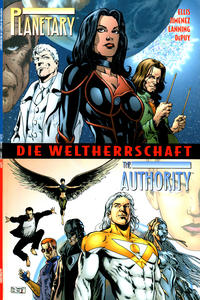 Cover Thumbnail for Planetary / The Authority (mg publishing, 2001 series)