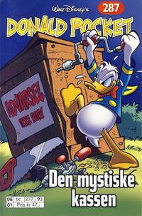 Cover Thumbnail for Donald Pocket (Hjemmet / Egmont, 1968 series) #287 - Den mystiske kassen [Reutsendelse bc 277 93]
