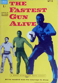 Cover Thumbnail for A Movie Classic (World Distributors, 1956 ? series) #13 - The Fastest Gun Alive