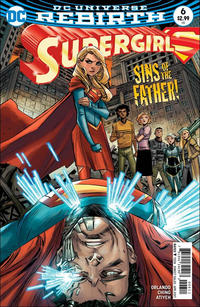 Cover Thumbnail for Supergirl (DC, 2016 series) #6