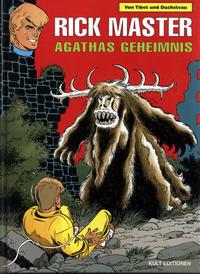 Cover Thumbnail for Rick Master (Kult Editionen, 1997 series) #48 - Agathas Geheimnis