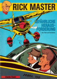 Cover Thumbnail for Rick Master (Carlsen Comics [DE], 1987 series) #3 - Gefährliche Herausforderung