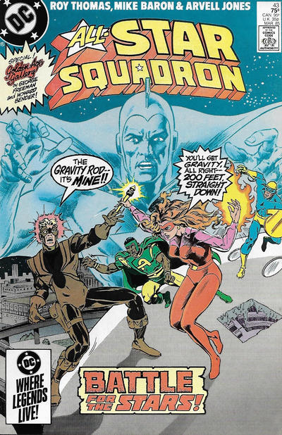 Cover for All-Star Squadron (DC, 1981 series) #43 [Direct Sales Variant]