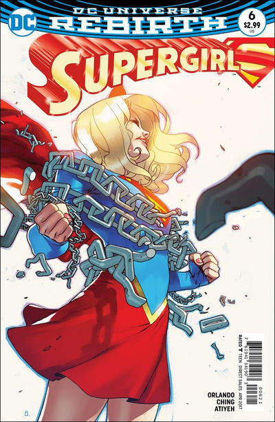 Cover for Supergirl (DC, 2016 series) #6